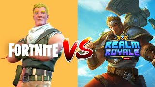 Fortnite VS Realm Royale | COMPARISON | (In Depth) 2019