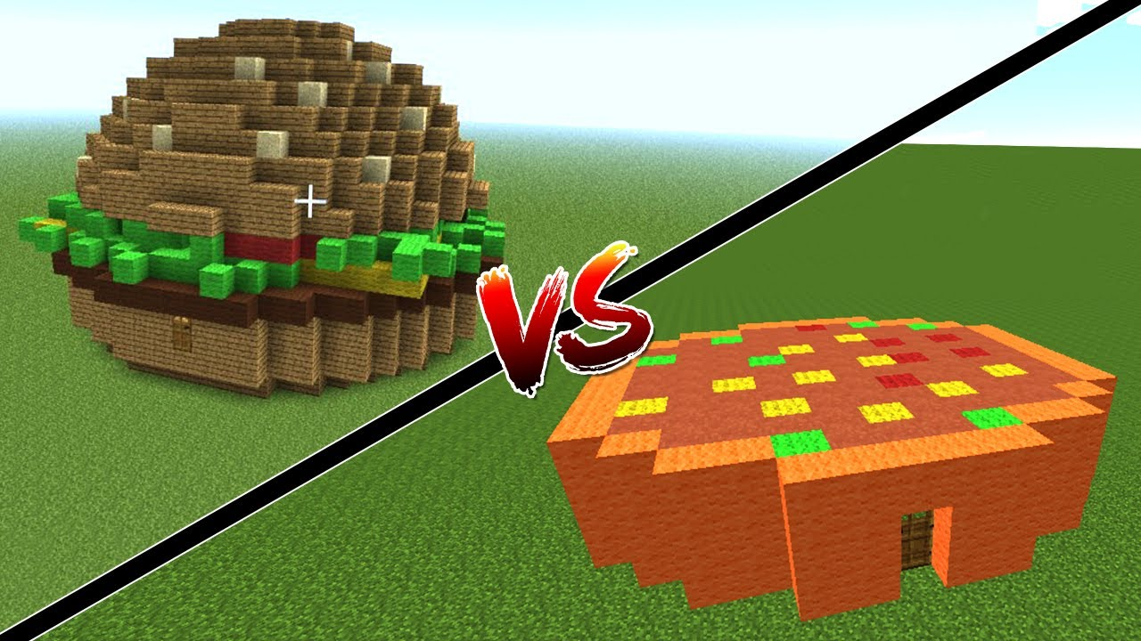 how to get a hamburger head in minecraft