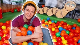 INDOOR PLAYGROUND WITH CODY - Playgrounds for Kids - Learn Colors with Toy Cars! | Cody - WildBrain