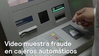 Delincuente cambia tarjetas a usuarios de cajeros automáticos - Despierta con Loret