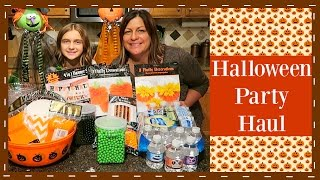 KIDS HALLOWEEN PARTY HAUL