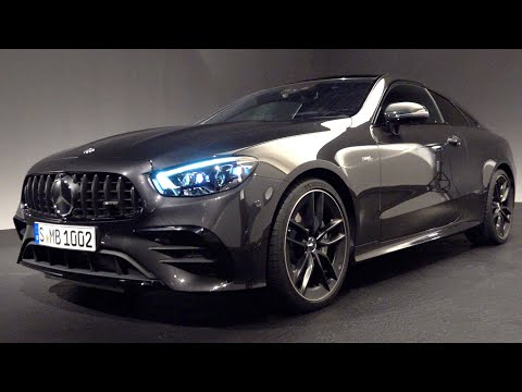 2021 Mercedes E Class AMG Coupe - E53 NEW Full Review 4MATIC + Interior Exterior Infotainment