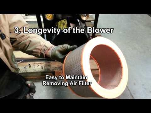 Positive Displacement Blower (Roots): CM2400 Insulation Machine