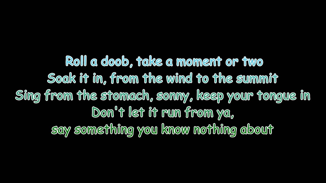 Asher Roth Lyrics