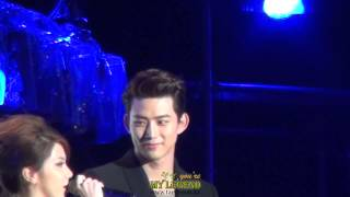 HD) ASIA SONG FESTIVAL MC 택연3 ENGLISH INTERVIEW TAECYEON 20131009