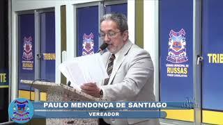 Paulo Santiago Pronunciamento 13 11 2018