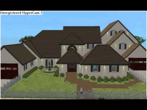 Sims 3 mansion xbox 360 youtube for Construire une maison sims 3 xbox 360