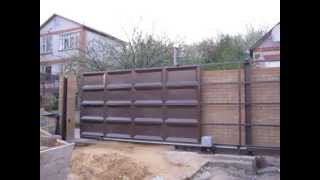 Купить распашные филенчатые ворота(, 2014-05-15T16:31:21.000Z)