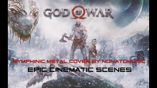 God Of War (Symphonic Metal Version by Nonatomusic) EPIC SCENES