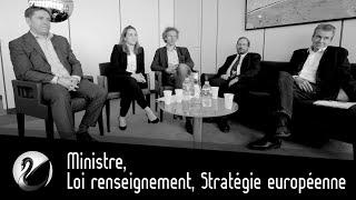 Ministre, Loi renseignement, Stratégie européenne