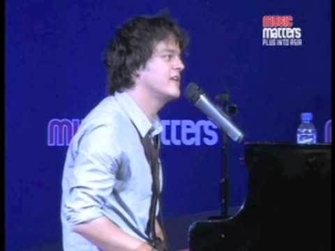 Jamie Cullum on writing Gran Torino with Clint Eastwood - at Music Matters 2009