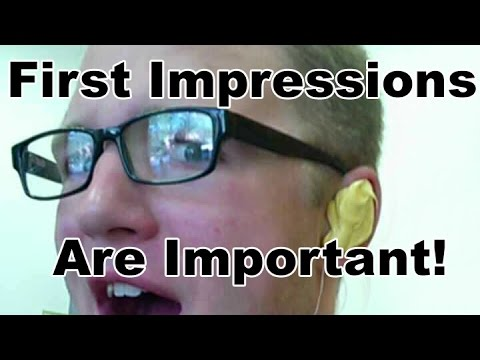 how important are first impressions dating