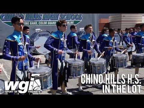 WGI 2018: Chino Hills High School - IN THE LOT
