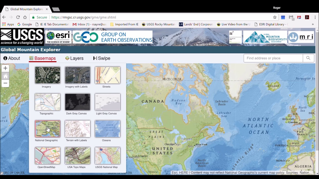 Global mountain explorer video tutorial youtube global mountain explorer video tutorial gumiabroncs Images