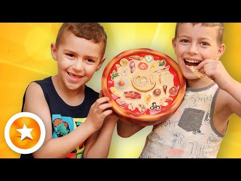 Pizza Panic игра на реакцию. Самые крутые настольные игры для детей. Игра Pizza Challenge.