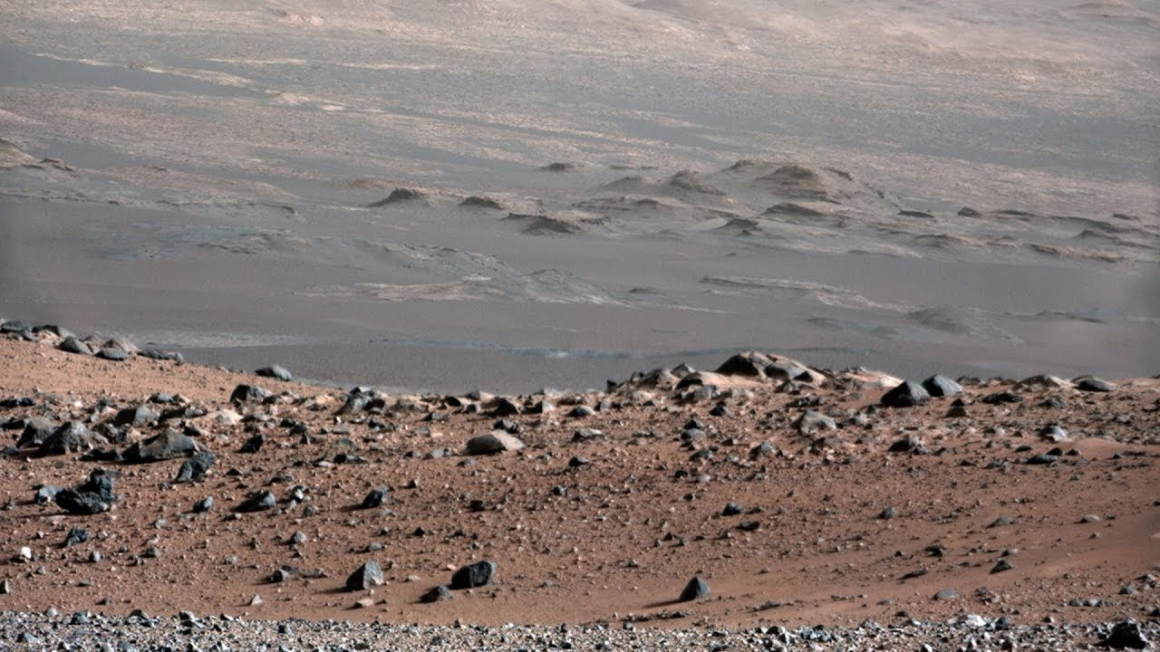 NASA Mars Rover Curiosity Surface Footage - YouTube