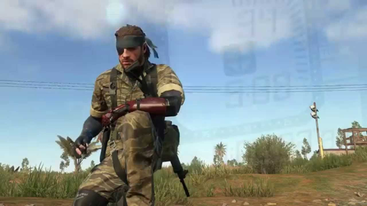 Metal Gear Solid V: the Phantom Pain - Fatigues (naked