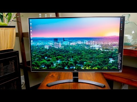 LG 27UD68-P 27 Inch 4k 60p Monitor Review