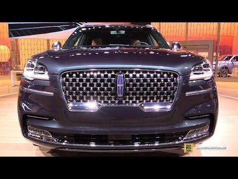 2019 Lincoln Aviator Black Label - Exterior and Interior Walkaround - 2019 Detroit Auto Show