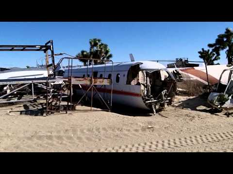 Scrap plane recycling