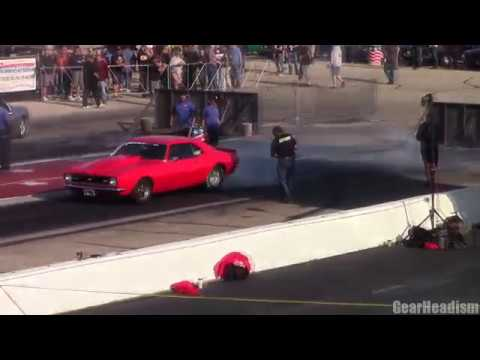 Hot Rod Drag Week 2017 Byron IL almost an hour of drag racing