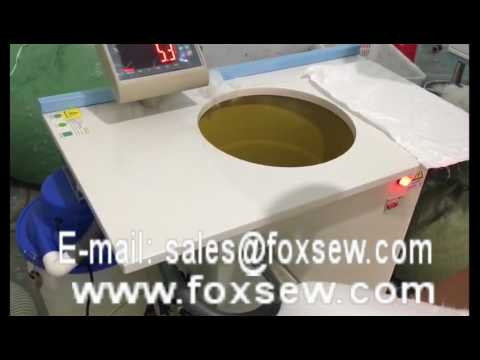 Semi Automatic Down and Fiber Filling Machine for Pillows and Cushions