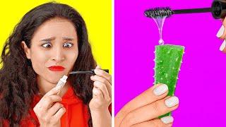 DICAS GENIAIS DE BELEZA QUE REALMENTE FUNCIONAM! || Dicas e Truques de Maquiagem por 123 GO! GOLD