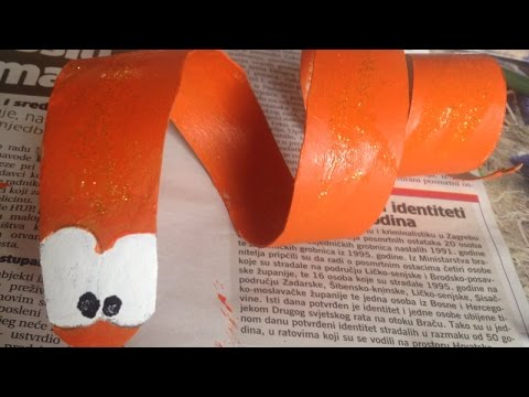Make Cute Paper Roll Snake - DIY Crafts - Guidecentral