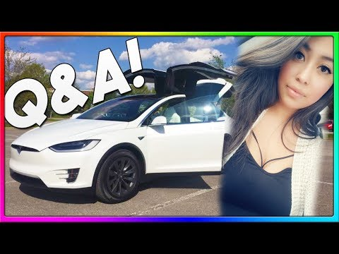 Q&A with my Girlfriend!   Tesla Model X POV Style Drive, Sort of! (IRL)