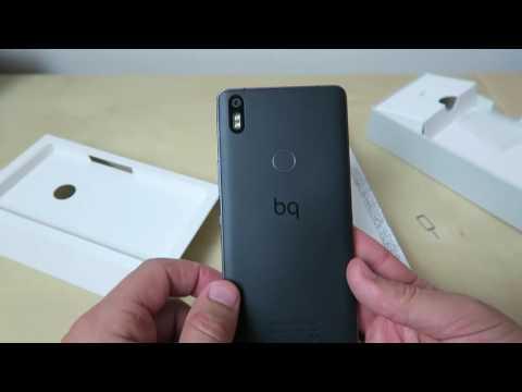 Unboxing em PT: Smartphone BQ aquaris X5 Plus