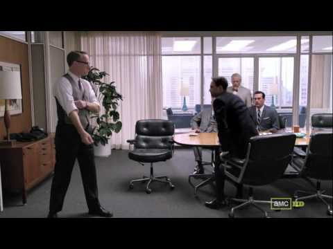 Download Mad Men Season 5 Episode 5 Lane Pryce Fights Peter Campbell
