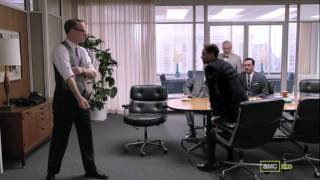 Mad Men Season 5 Episode 5 Lane Pryce Fights Peter Campbell