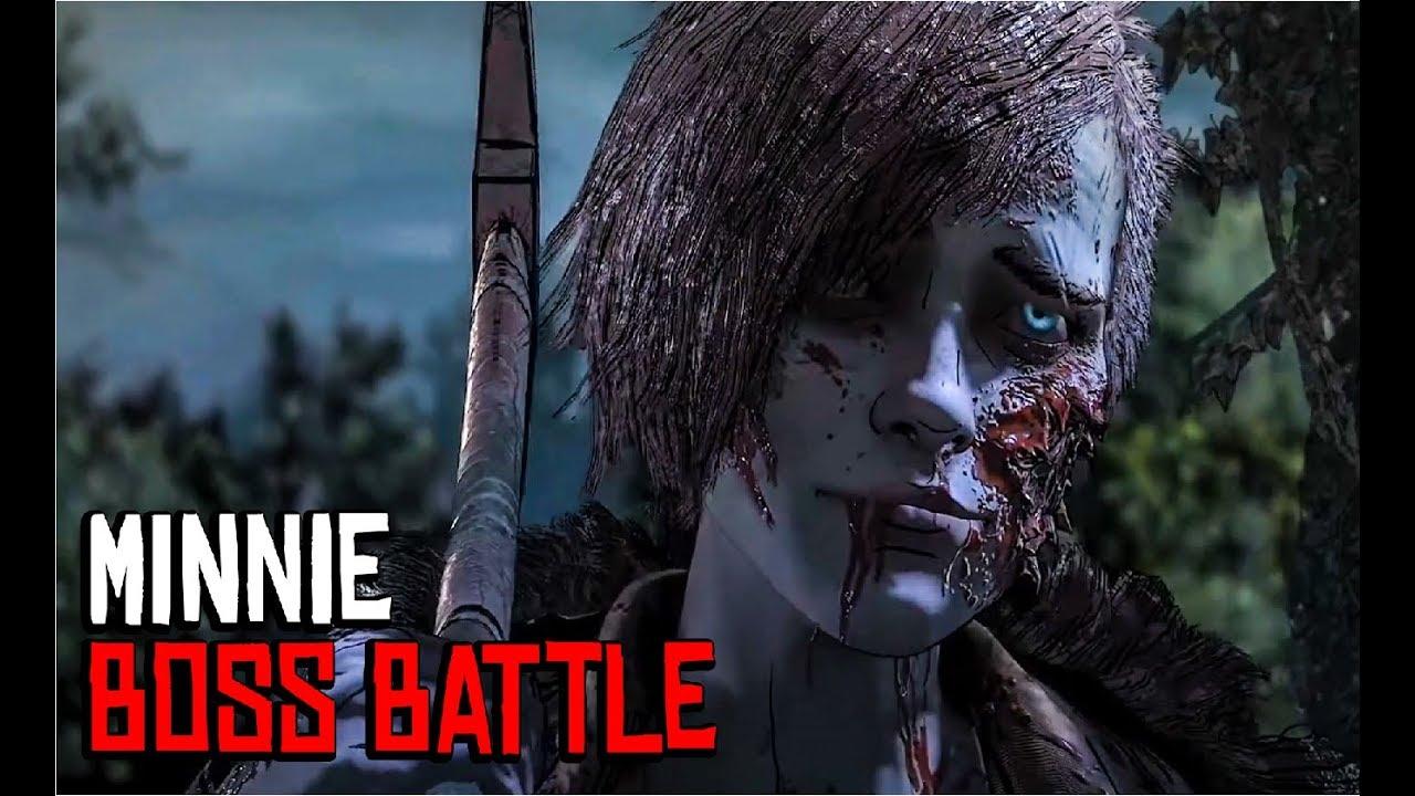Minnie Boss Battle - Telltale's The Walking Dead Season 4 Episode 4 ( Final  Season )