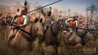 Rome 2 Total War Multiplayer Gameplay Live #06 // Parthien gegen Makedonien