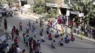 ICC World Twenty 20 Bangladesh 2014, Flash Mob - ACADEMIA