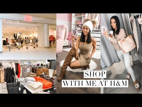 SHOP WITH ME AT H&M! FALL CLOTHING HAUL!🍁