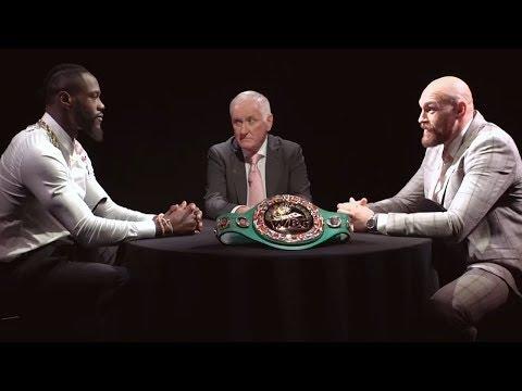 Full Deontay Wilder v Tyson Fury roundtable Face Off