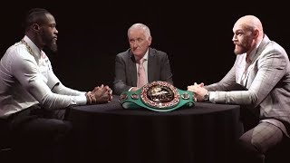 Full Deontay Wilder v Tyson Fury roundtable Face Off
