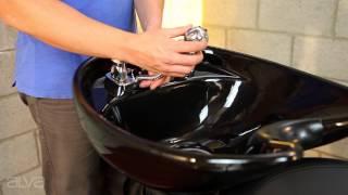 ViRa-8000GQ Smooth Lines 8000-Shampoo Chair & Bowl / Backwash