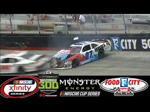 2017 NASCAR Highlights , Fitzgerald Glider Kits 300 , Food City 500 4/21 - 4/24/2017