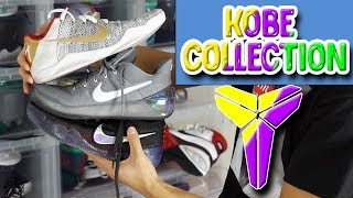 The Sole Brothers Nike Kobe Shoe Collection!