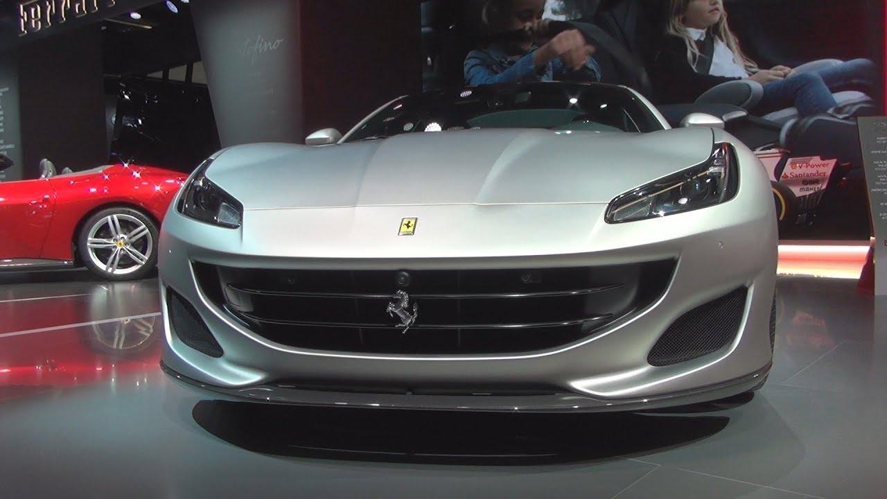 Ferrari portofino 2018 exterior and interior youtube - 2017 ferrari california interior ...