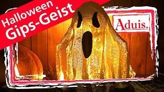 Gipsbinden basteln – Halloween