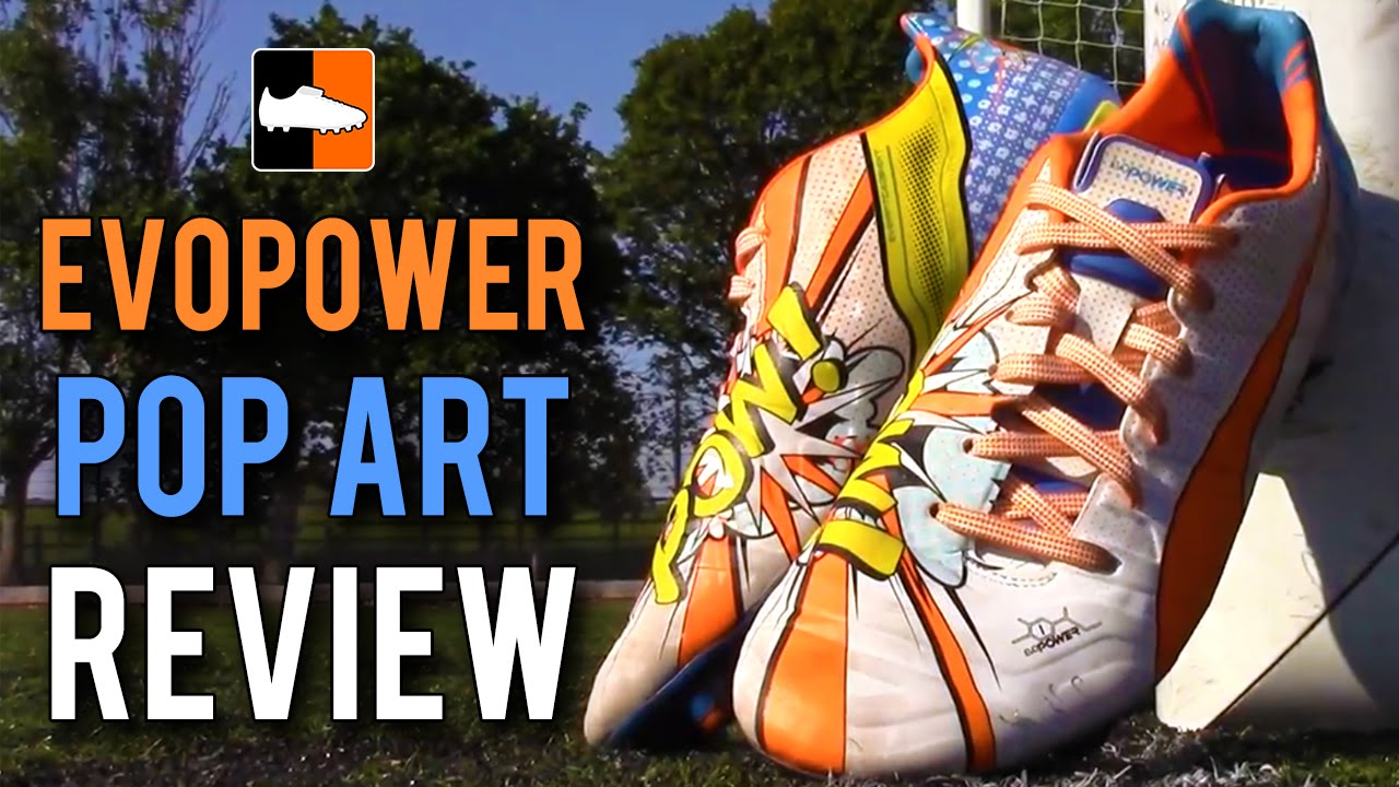 41cfdf104 Balotelli   Fabregas Pop Art evoPOWER 1.2 Puma Review Feat. Power And  Precision. Football Boots