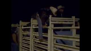 Bull riding practice in Arizona. Twenty bucks a ride.