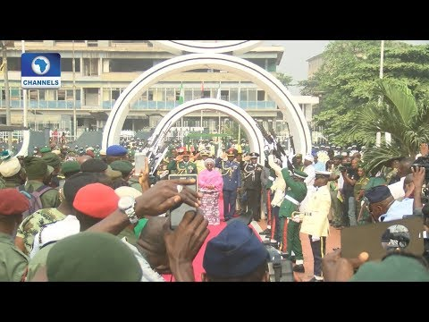 Lagos Joins Nigerians To Pay Homage To Her Fallen Heroes |Dateline Lagos|