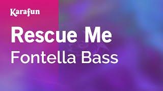 Karaoke Rescue Me - Fontella Bass *