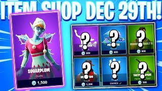Fortnite Item Shop! SUGARPLUM SKIN! Daily & Featured Items! (December 29th 2018)