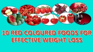 10 Red Coloured Foods For Weight Loss thumbnail