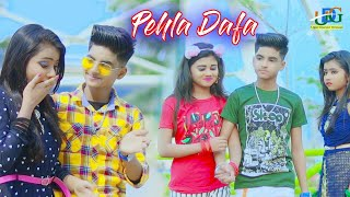 Pehli Dafa ☺ Cute Love Story 🌈 New bollywood songs 😟 Rick Rupsa and Snaha 💃 Ujjal Dance Group 2021